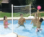AQUA VOLLEY PORTABLE POOL VOLLEYBALL SET
